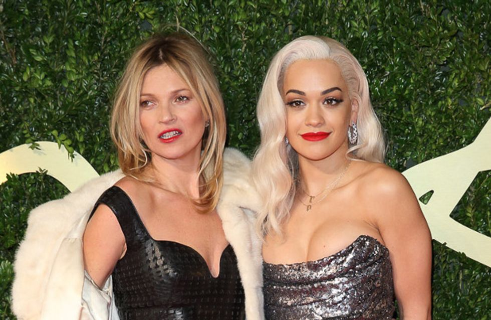 Kate Moss, Alexa Chung, Rita Ora… Les meilleurs looks des British Fashion Awards