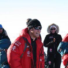 Am Südpol: Prinz Harry vermisst seine Familie