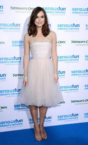 Keira Knightley à la soirée SeriousFun à Londres le 3 décembre 2013