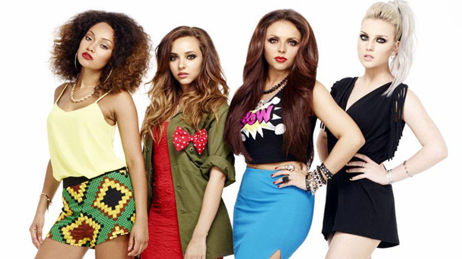 Little Mix talk us through their Christmas make-up