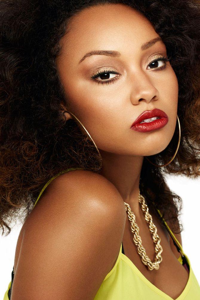 Little Mix talk us through their Christmas make-up looks