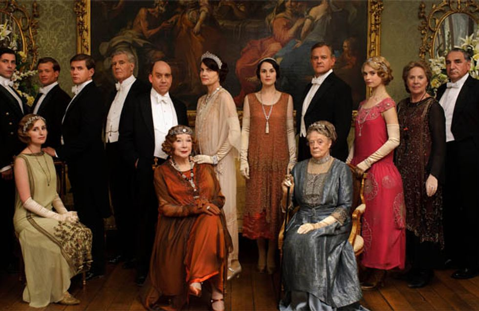 PICTURES: First look at the Downton Abbey 2013 Christmas Special
