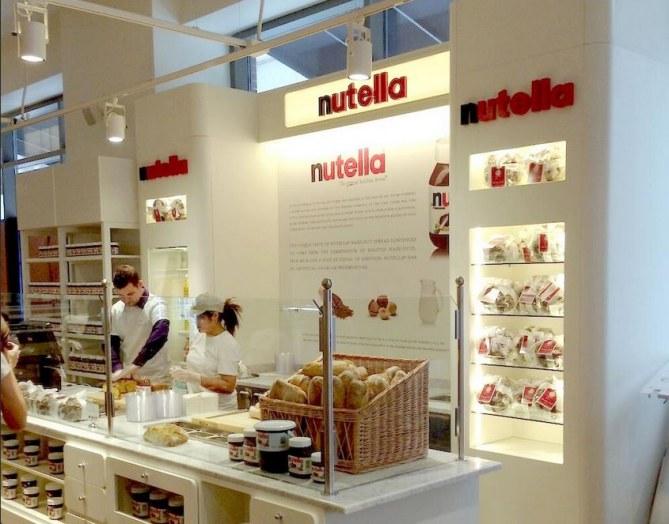 Bar à Nutella