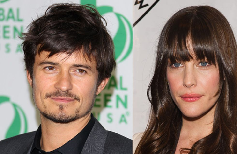 Are newly-single Orlando Bloom and Liv Tyler dating?