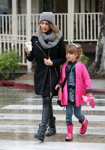 Jessica Alba et Honor à Los Angeles