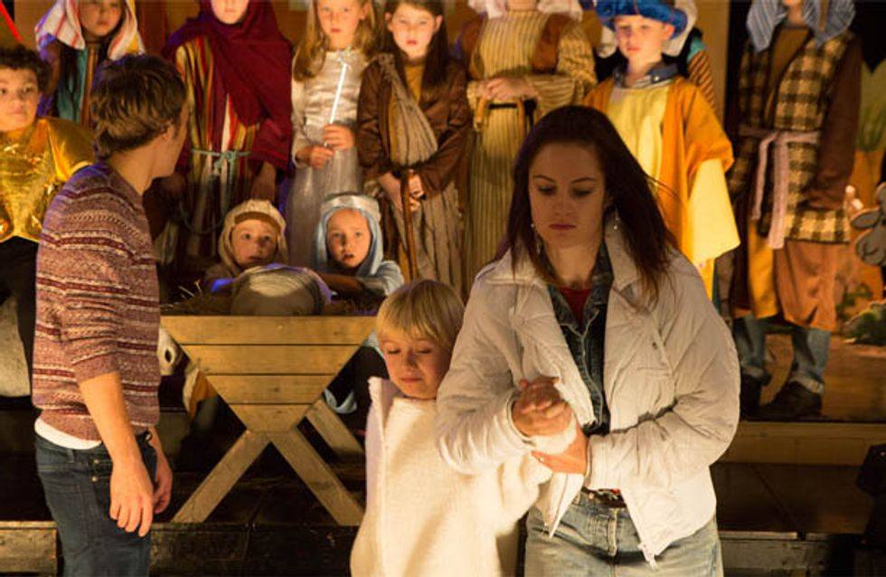 Coronation Street 20/12 – Drunk Kylie shows up at the school Nativity play