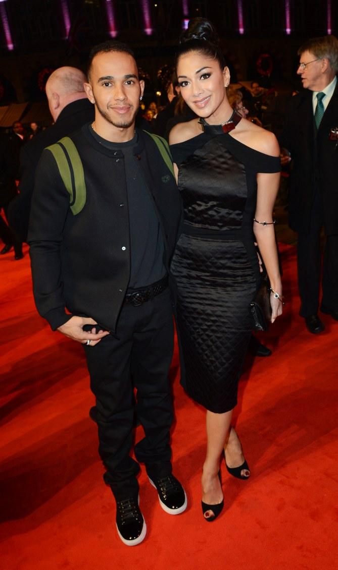Nicole Scherzinger et Lewis Hamelton
