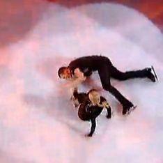 Ice Show : Quand Norbert montre ses fesses et tombe en direct (vidéo)