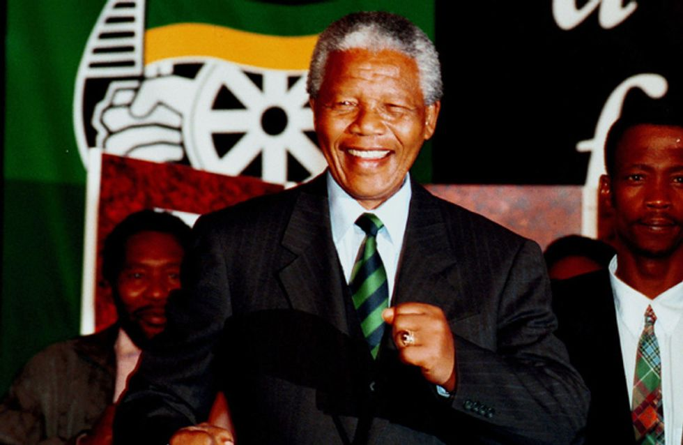 Celebrities pay tribute to 'heroic' Nelson Mandela