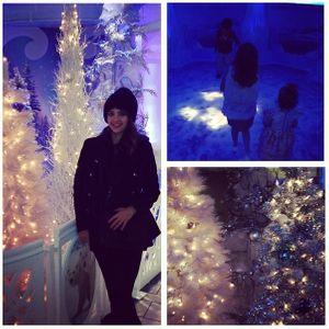Ambiance Noël pour Jessica Alba