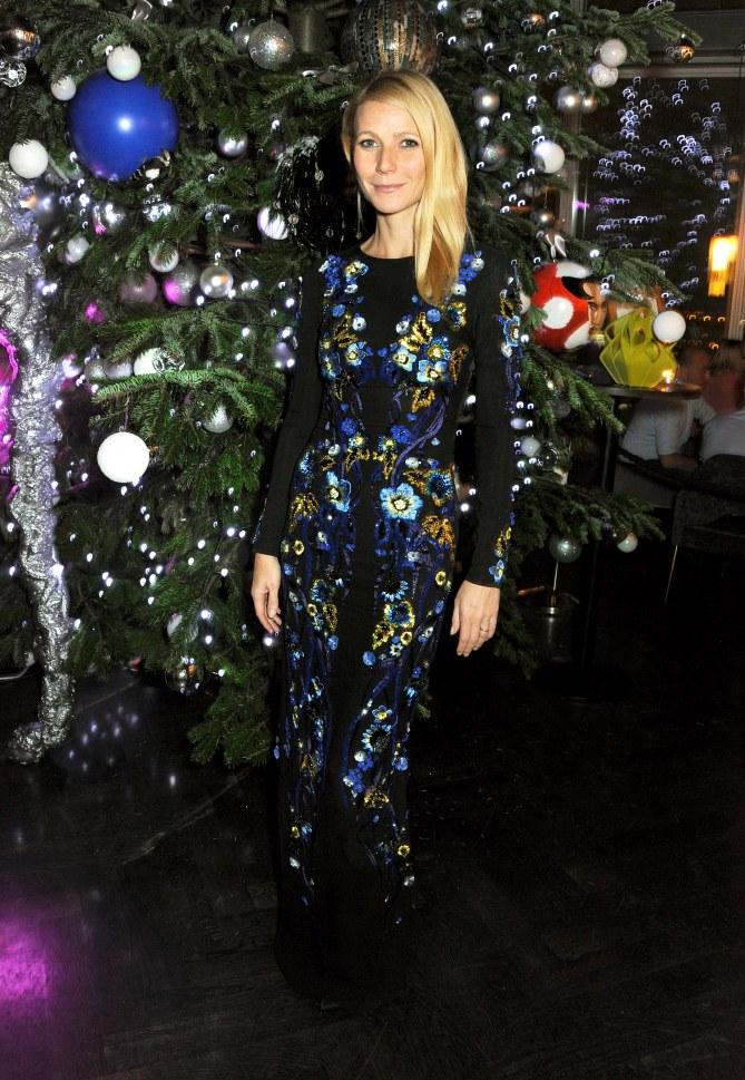Gwyneth Paltrow à la soirée Kids Company à Londres en décembre 2013