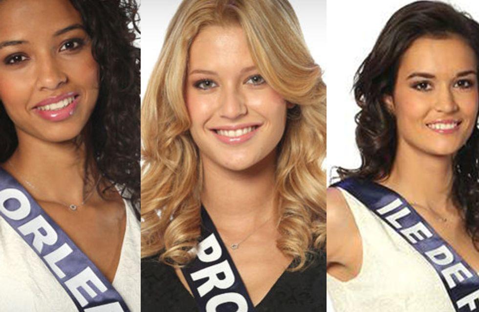 Miss France 2014 : Qui sont les 5 favorites ? (Photos)