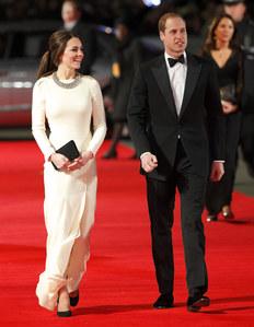 Kate & William bei der 'Mandela' Premiere