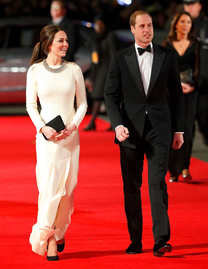 Kate & William bei der 'Mandela' Premiere