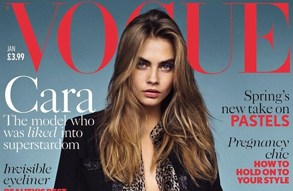Cara Delevingne : Rock et sexy en couv' de Vogue
