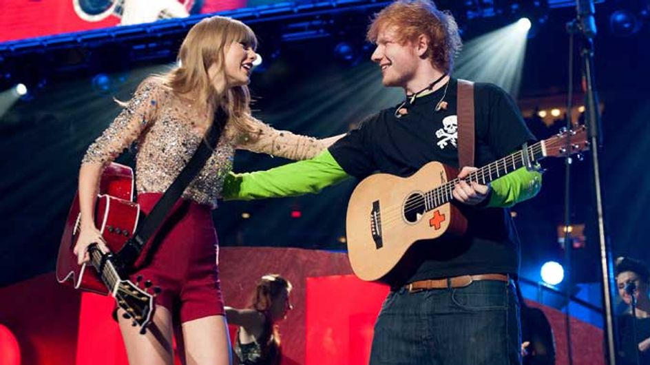 Taylor Swift has given Ed Sheeran's second album her seal of approval