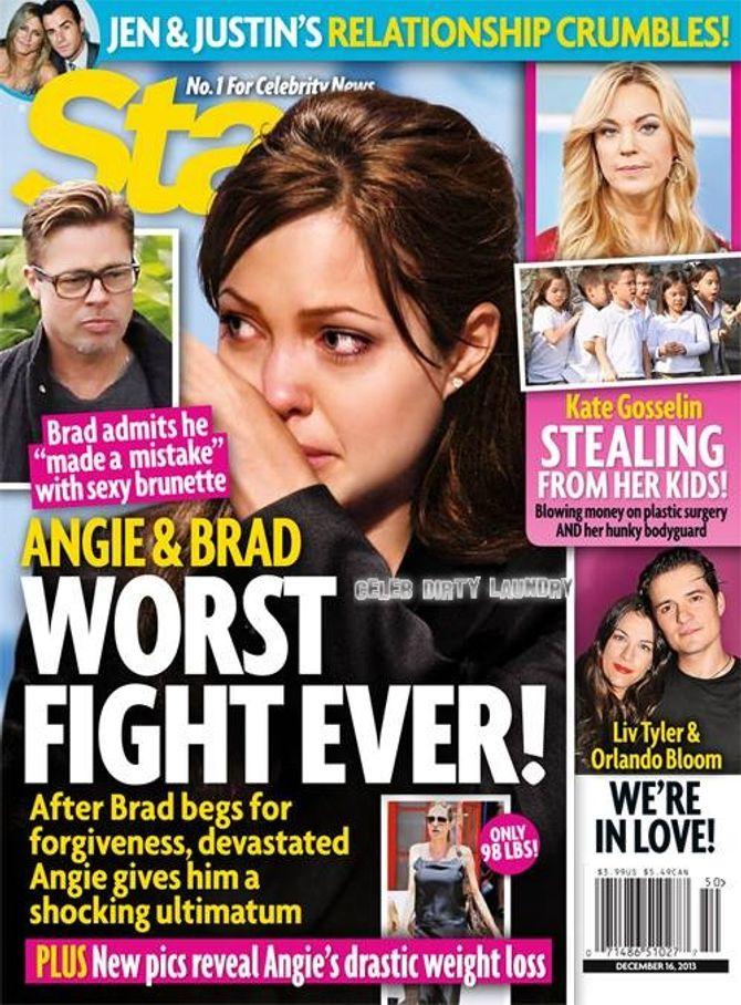 Brad Pitt a-t-il trompé Angelina Jolie ?
