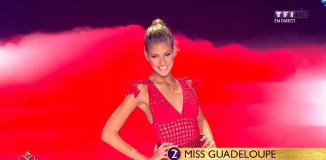Miss Guadeloupe - Miss France 2014