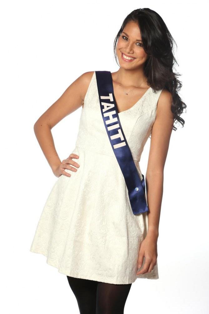 Miss Tahiti - Miss France 2014
