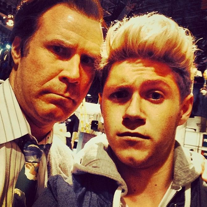 Niall Horan and Will Ferrell