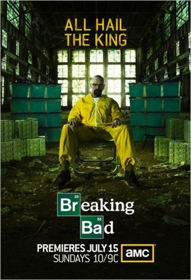 Top TV de Julien Doré : Breaking Bad