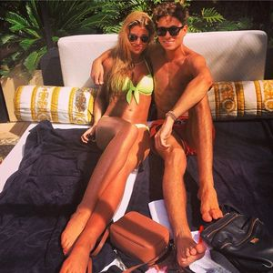 Amy Willerton and Joey Essex