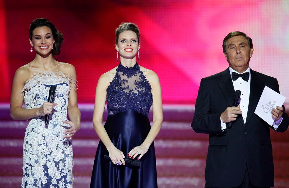 Sylvie Tellier : Enceinte et glamour lors de l'élection Miss France 2014 (Photos)