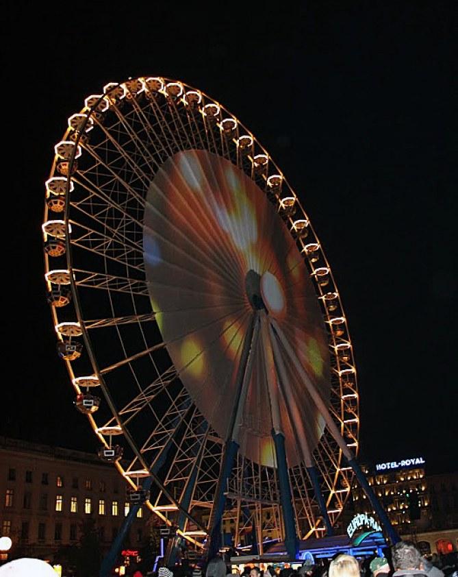 Fête des lumières 2013 Place Bellecour