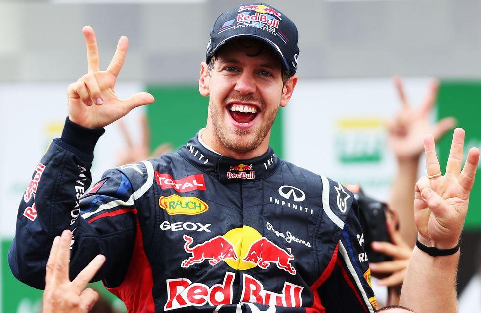 Doppelt Grund zur Freude: Weltmeister Sebastian Vettel wird Papa!