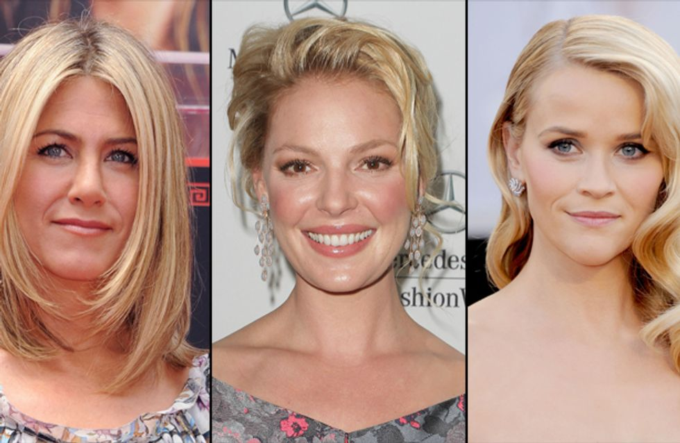 Jennifer Aniston, Reese Witherspoon et Katherine Heigl : Des actrices surpayées