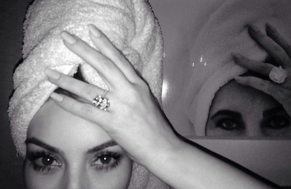 Kim Kardashian : Elle se prend pour Elizabeth Taylor !