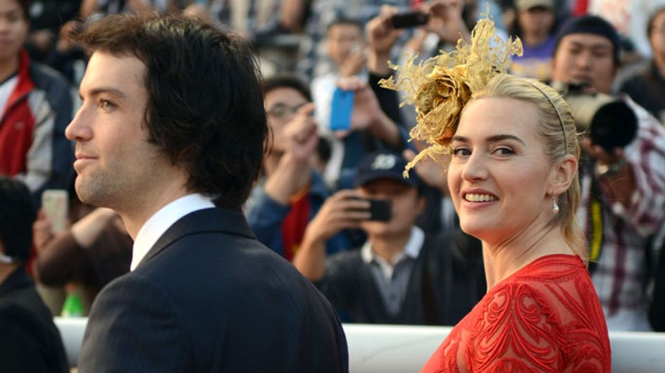 Kate Winslet is 'thrilled to bits' with birth of 9lb baby boy