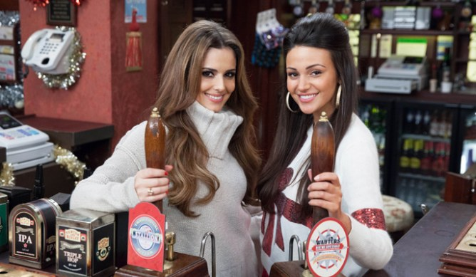 Cheryl Cole and Michelle Keegan