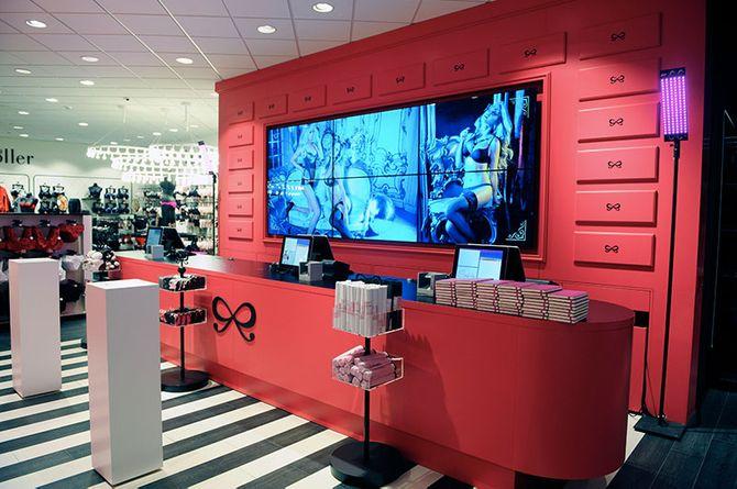 Hunkemöller flagship store Antwerpen
