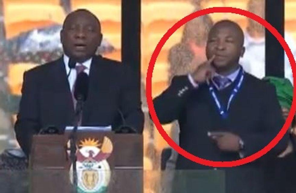 Hommage à Nelson Mandela : Le scandale du faux interprète de la cérémonie