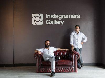 Jorge Martínez y Phil González, creadores de Instagramers Gallery.