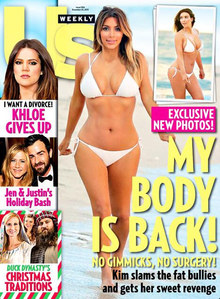 Kim Kardashian zeigt sich im Bikini