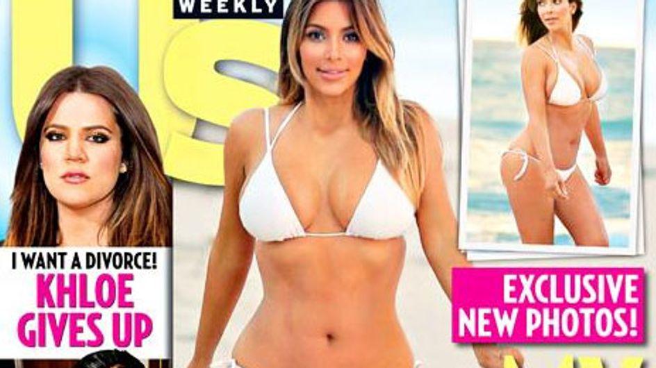 Nach der Diät: Kim Kardashian zeigt sich im Bikini!