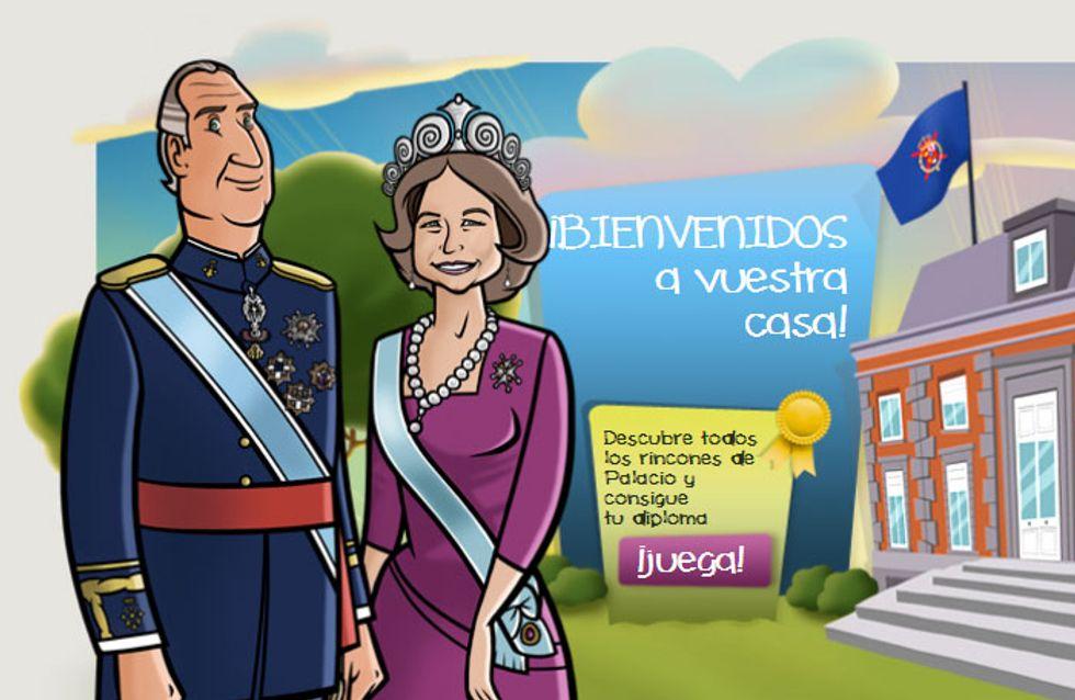 La Casa Real acerca la monarquía a los niños a través de su página web