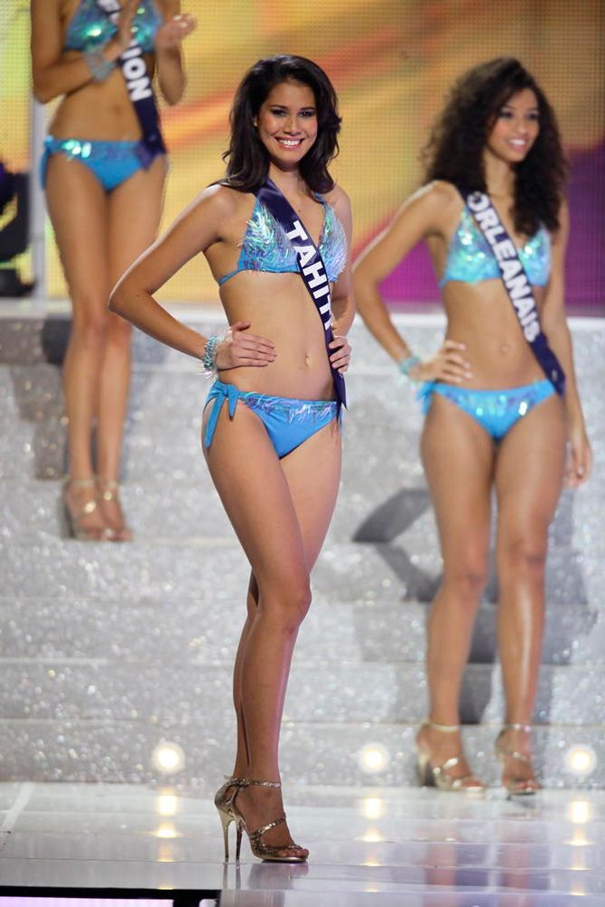 Miss Tahiti, 1ère dauphine Miss France 2014