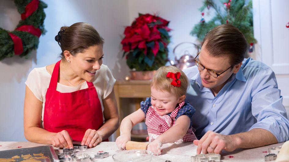 Zuckersüßes Video: Prinzessin Estelle backt Weihnachtsplätzchen!