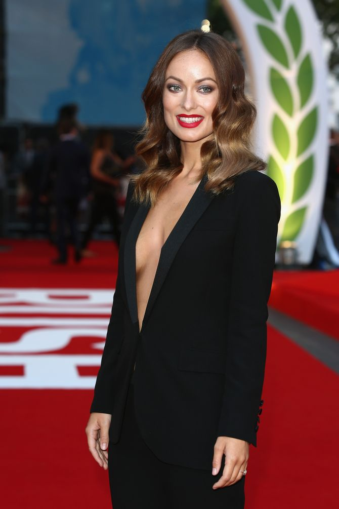 Olivia Wilde rayonnante sur le tapis rouge