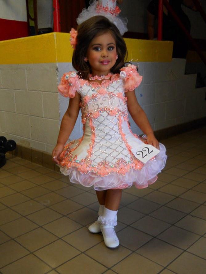 Une mini-miss américaine