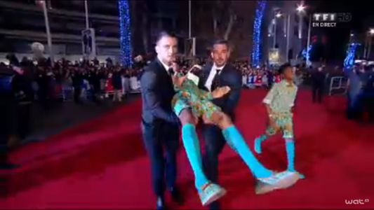 Stromae arrive aux NRJ Music Awards