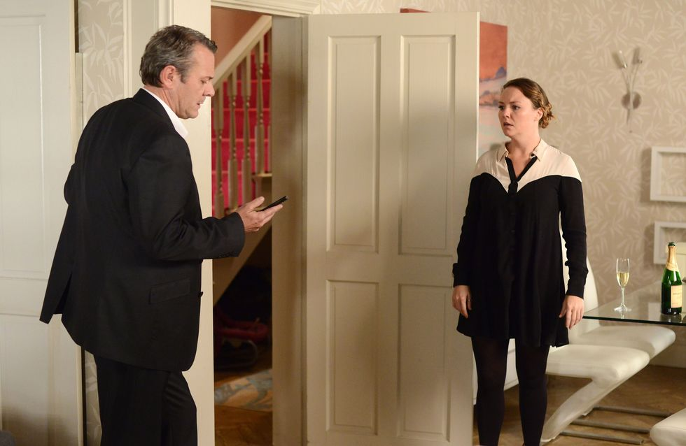 EastEnders 23/12 – David uses Janine's confession to blackmail her