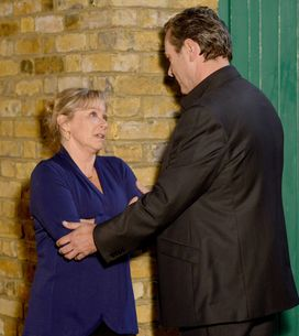 EastEnders 24/12 – David comforts a worried Carol