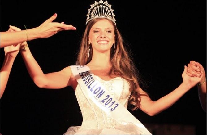 Norma Julia pour l'élection de Miss Roussillon