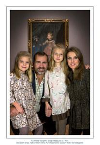 Los príncipes de Asturias con las Infantas Leonor y Sofía