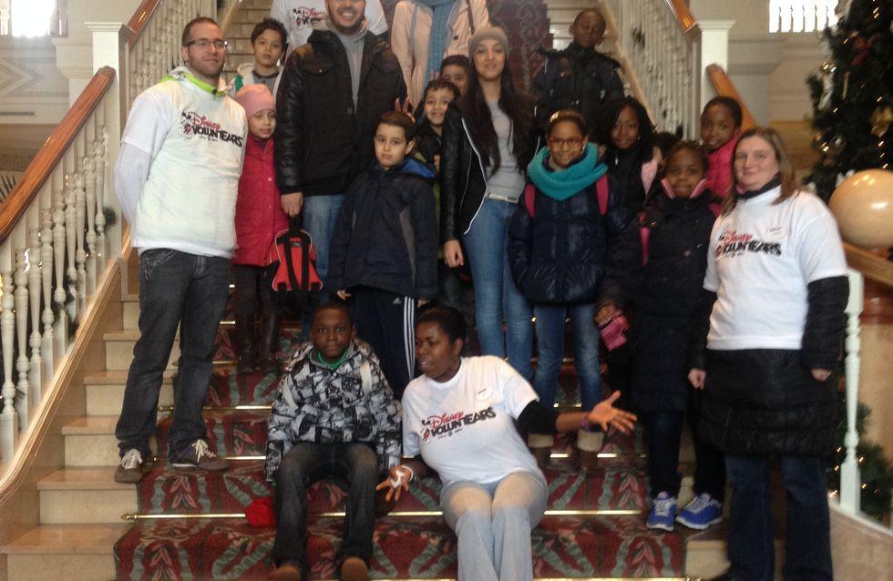 Noël solidaire : les enfants de la Voix de l'Enfant invités au parc Disneyland®
