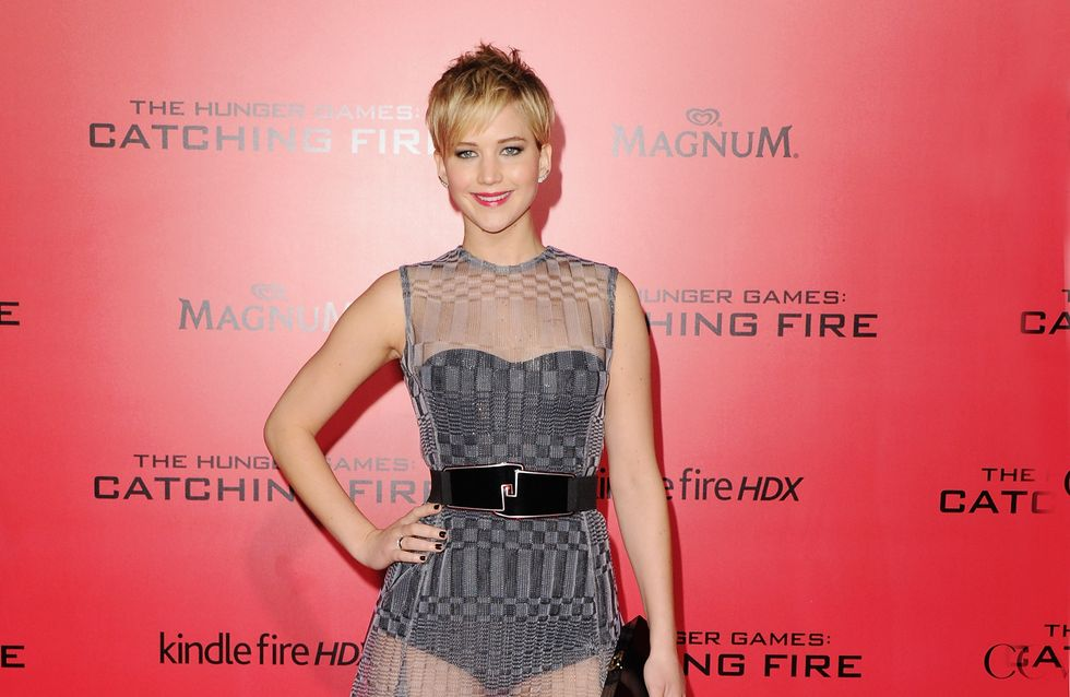 Jennifer Lawrence : Un doux baiser avec Amy Adams